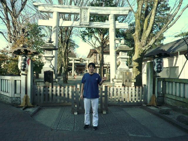 八幡神社前